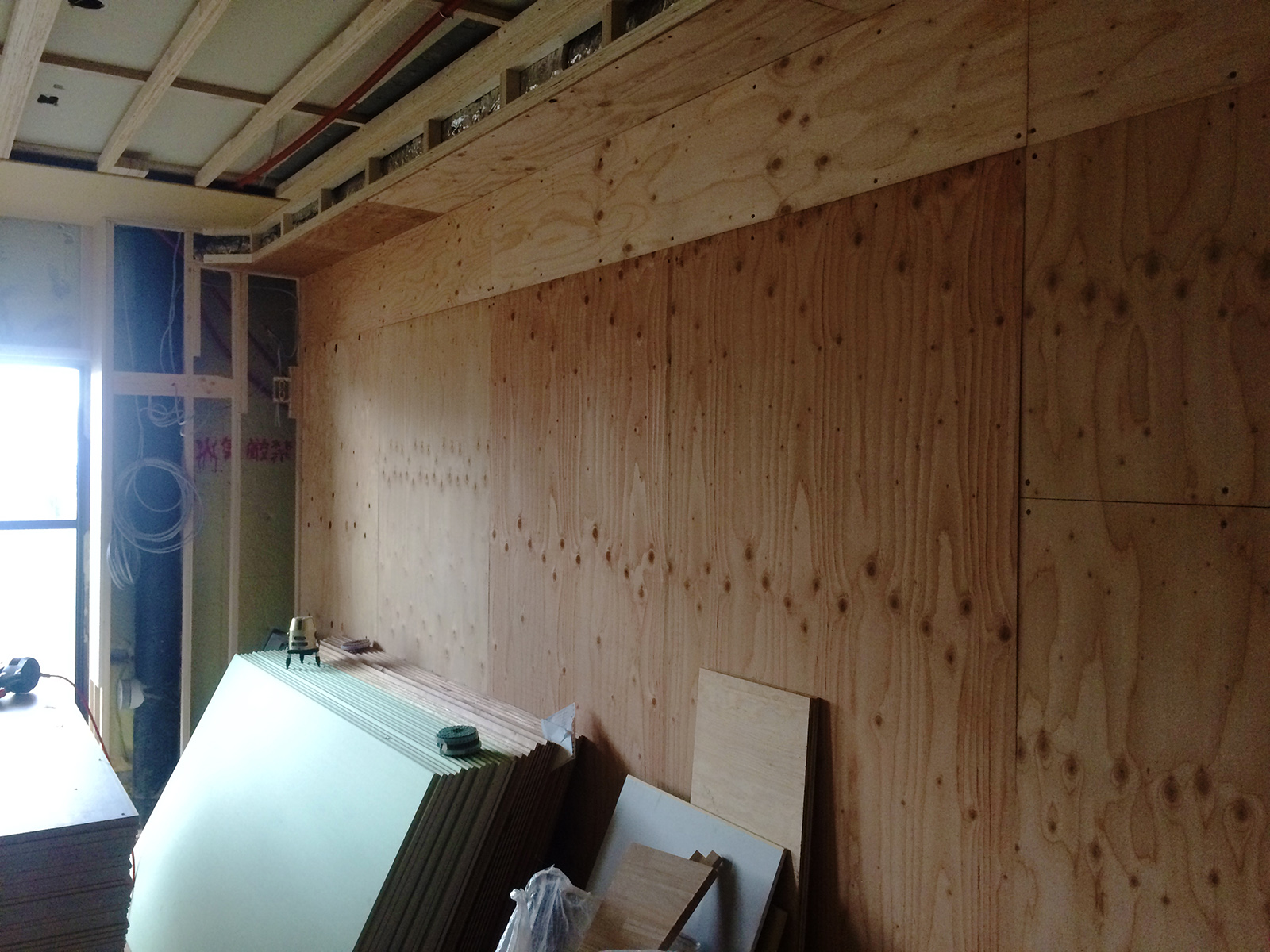 なかもずマンションのリノベーション(壁面収納)