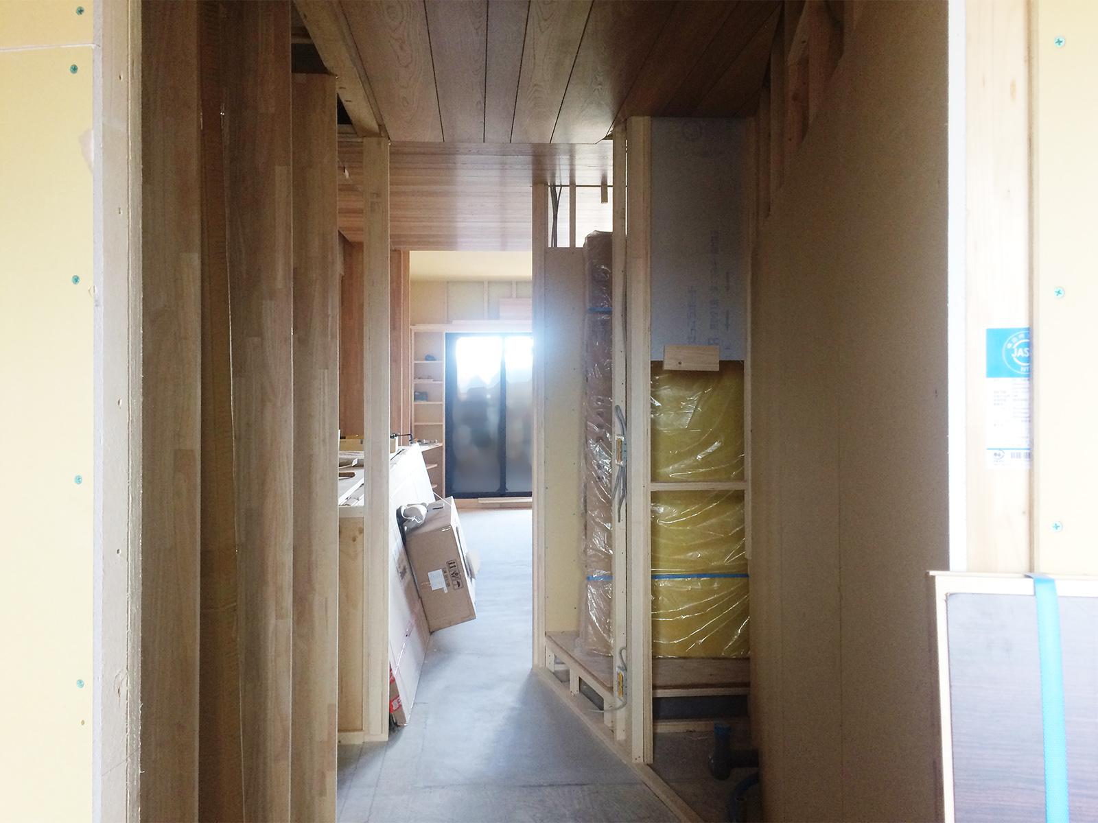 堺市 なかもずマンションのリノベーション(廊下)
