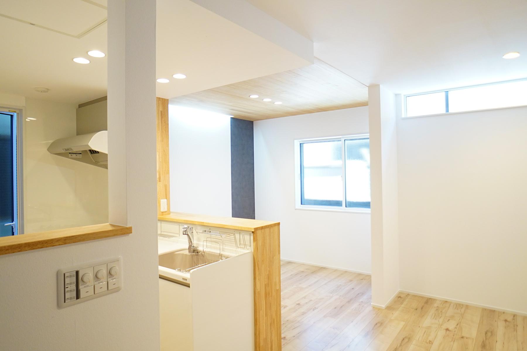 堺市 スキップフロアの家リノベーション
